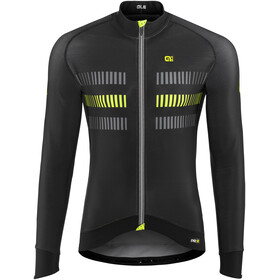 Alé Cycling PRR 2.0 Strada LS Jersey Men Black-Fluo Yellow